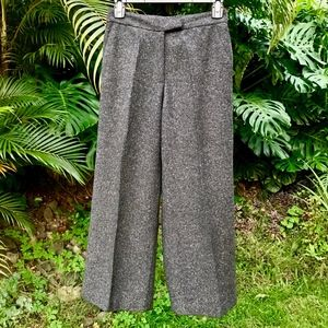Vince Tailored Strch Boucle Wool Blend Culotte Sz2